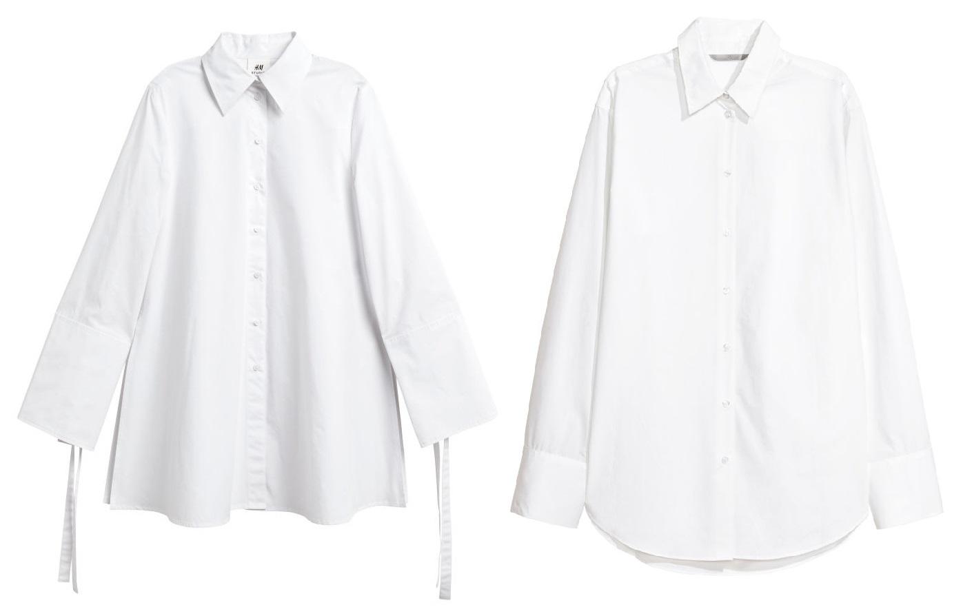 vit genomskinlig skjorta